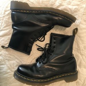Dr. Marten Black Boots